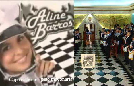 Aline Barros, satanismo, os illuminati e a maçonaria