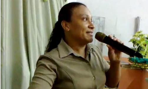 A 'missionaria' Milena da igreja pentecostal 'Deus è amor'