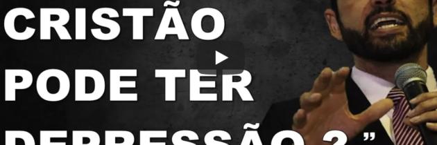 Paulo Junior ensina que um crente cheio do Espírito Santo pode ter depressão